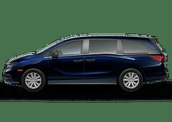 New Honda Odyssey at Salinas