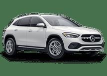 New Mercedes-Benz GLA at Salisbury