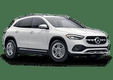 New Mercedes-Benz GLA at Morristown