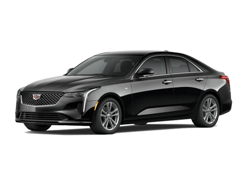 New Cadillac CT4 in