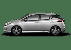 New Nissan LEAF at Dayton