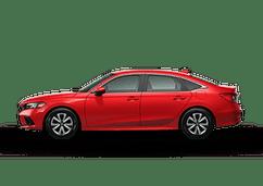 New Honda Civic Sedan at Salinas