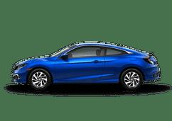 New Honda Civic Coupe at Salinas