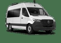 New Mercedes-Benz Sprinter Passenger Van at Salisbury