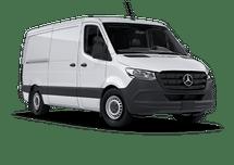 New Mercedes-Benz Sprinter Cargo Van at Wilmington