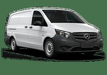 New Mercedes-Benz Metris Cargo Van at Wilmington