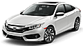 New Honda Civic at Riviera Beach
