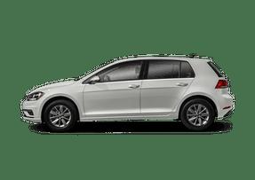 New Volkswagen Golf at San Diego