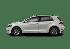 New Volkswagen Golf GTI at Elgin