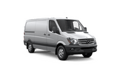 New Mercedes-Benz Sprinter Cargo Vans at Montgomery