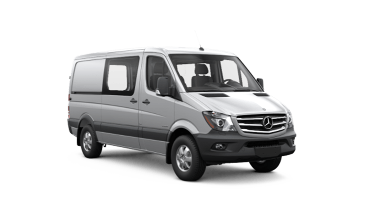 New Mercedes-Benz Sprinter Crew Vans near Medford