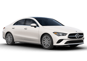 New Mercedes-Benz CLA at Marion