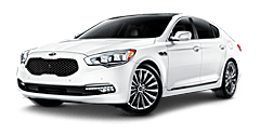 New Kia K900 at Racine