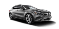New Mercedes-Benz GLA at San Luis Obispo