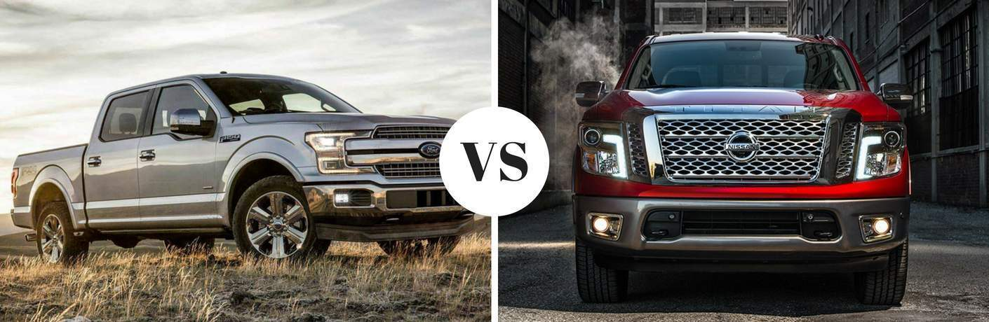 2018 Ford F-150 vs 2017 Nissan Titan