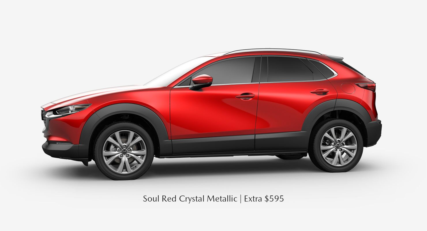Soul Red Crystal Metallic