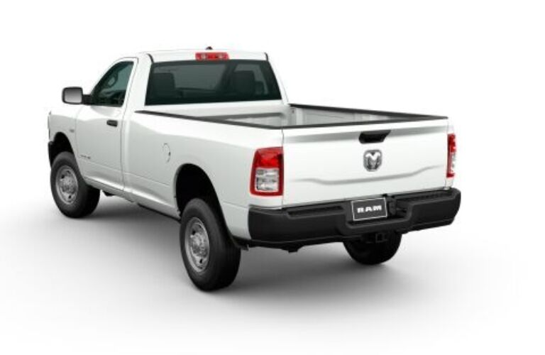 2020 RAM 2500 back end