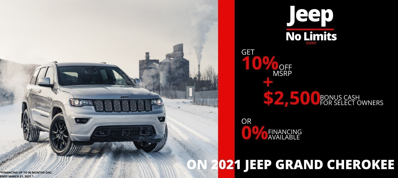 Shop Jeep Grand Cherokee Models