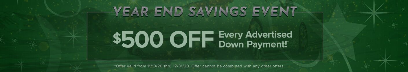 End of Year Savings