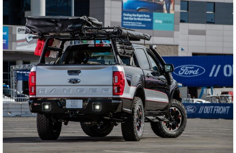2018 Ford Ranger with a lifted kit