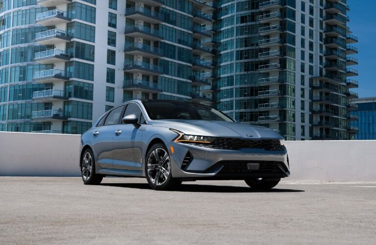 2021 Kia K5 from exterior front
