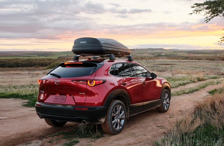 2021 Mazda CX-30 with cargo container