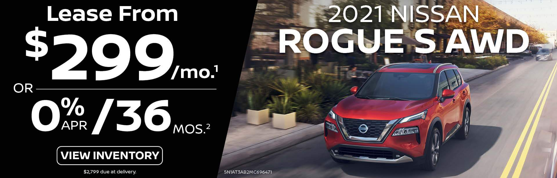 2021 Nissan Rogue S AWD