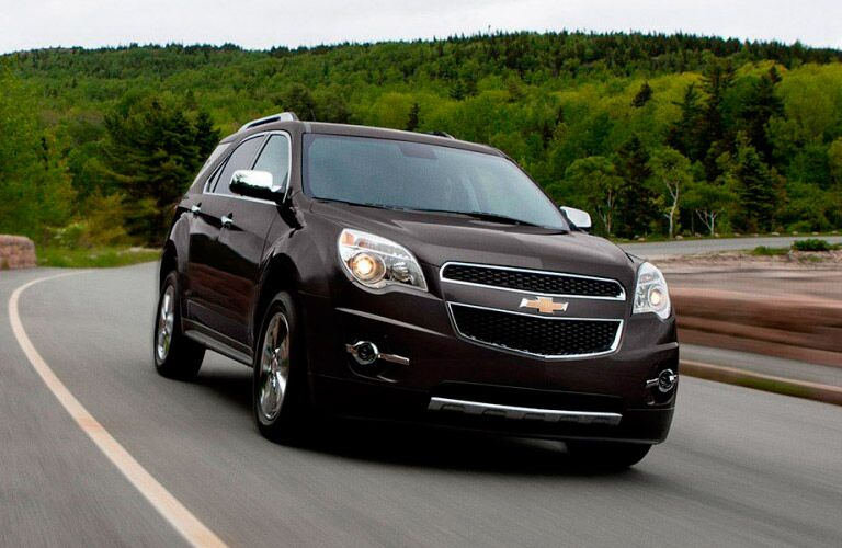 2015 Chevy Equinox on a highway
