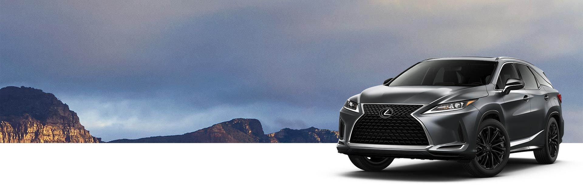 Exterior of the Lexus RX Black Line Special Edition shown in Caviar.