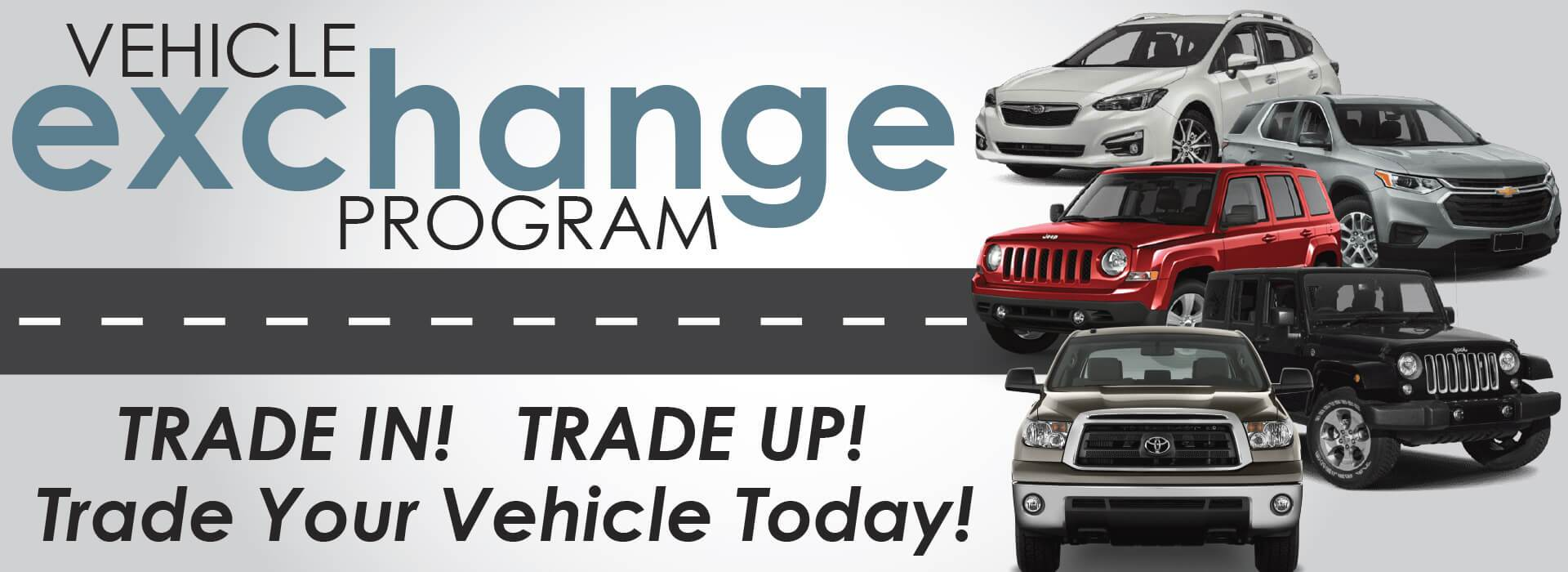 Trade in vehicles in in Norfolk VA