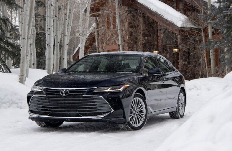 Seating in 2021 Toyota Avalon