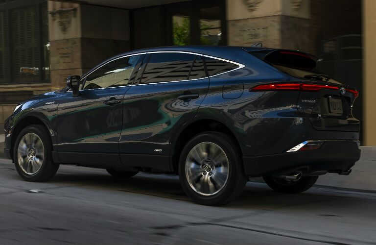 2021 Toyota Venza parked on street