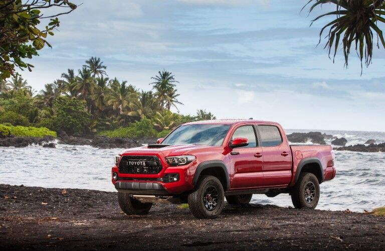 2017 Toyota Tacoma from exterior front