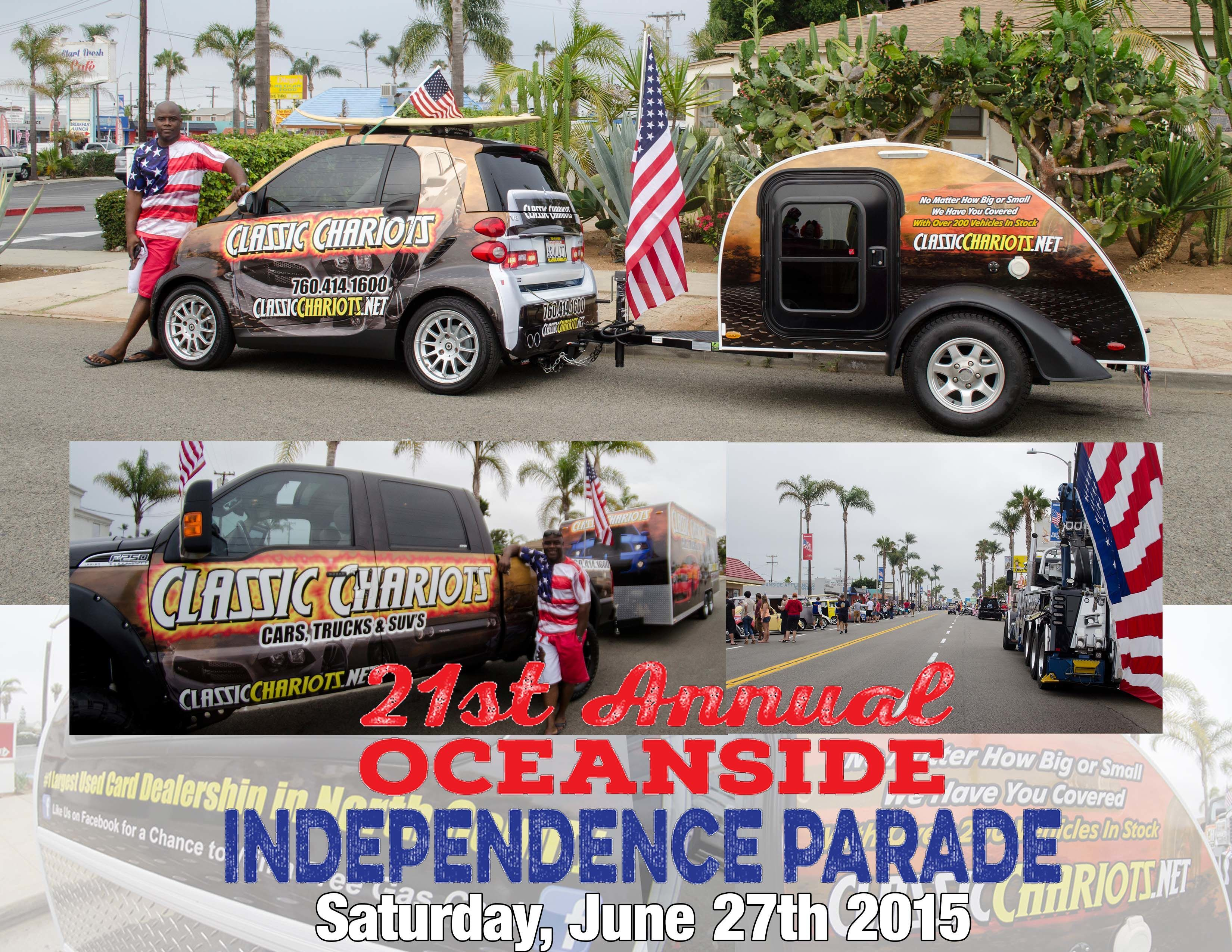 21st Annual Oceanside Independence Parade