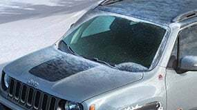 Windshield Wiper De-Icer