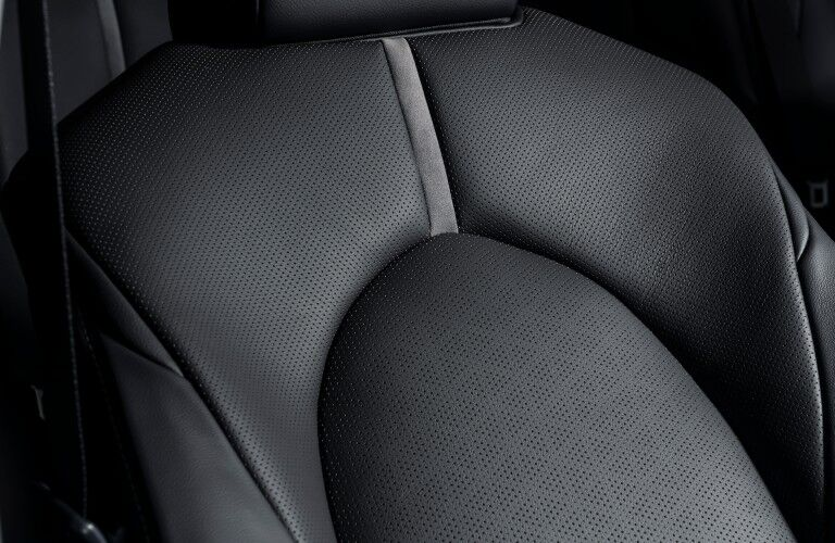 seating in the 2021 Toyota Camry Hybrid