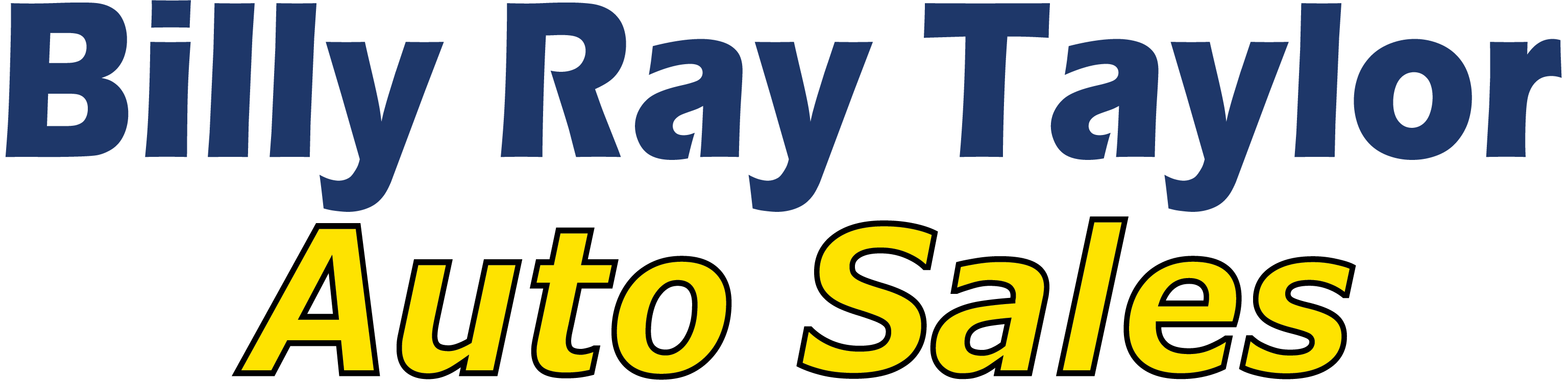 Billy Ray Taylor Auto Sales logo