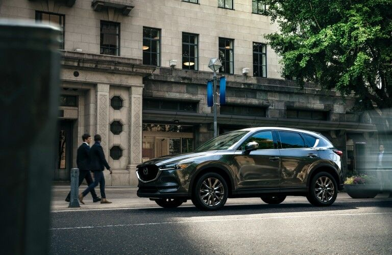 side view of the 2021 Mazda CX-5