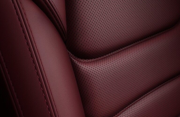 red cloth in the 2021 Mazda CX-5 Carbon Edition