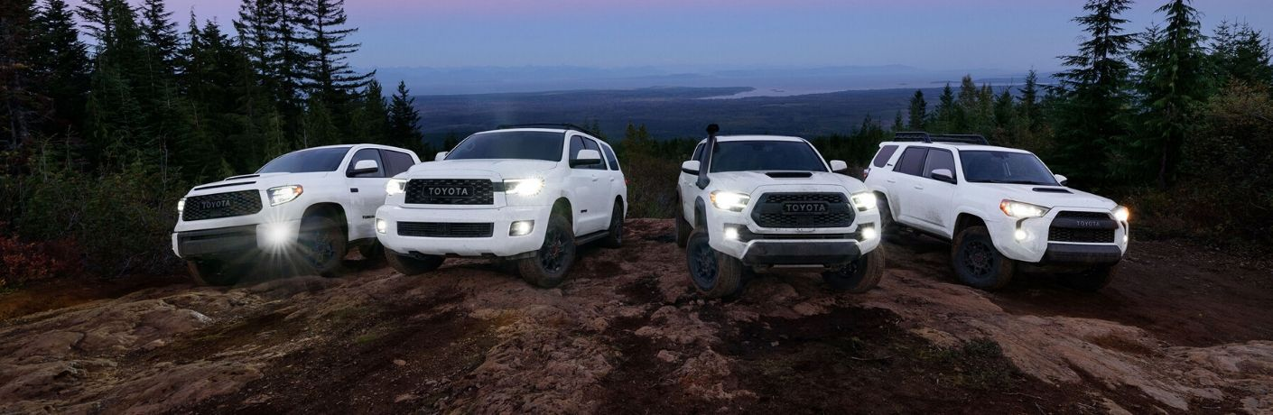2020 Toyota TRD Pro lineup