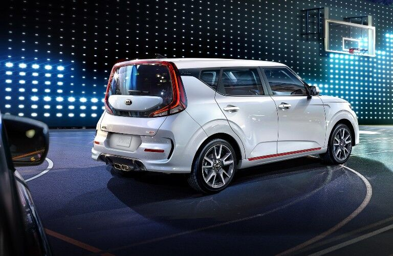 2021 Kia Soul from exterior rear