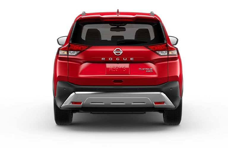 2021 Nissan Rogue back end