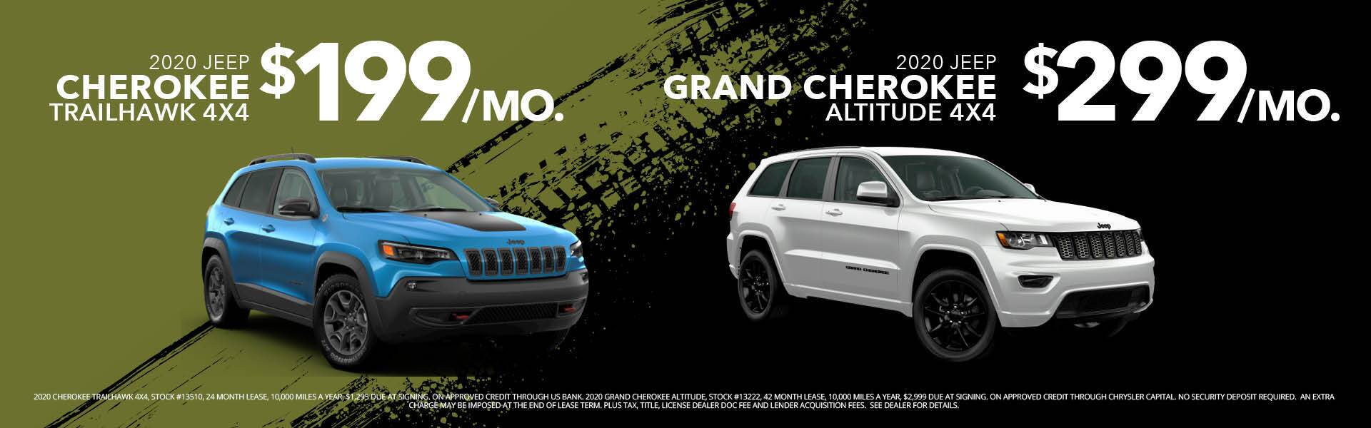 Grand Cherokee & Tailhawk
