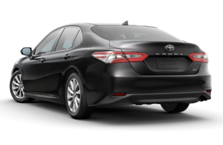 2020 Toyota Camry LE back end