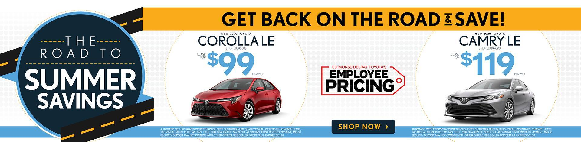 camry corolla lease