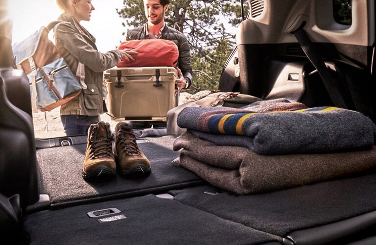 jeep compass cargo area