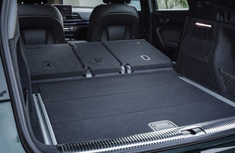 cargo space in the 2019 Audi Q5