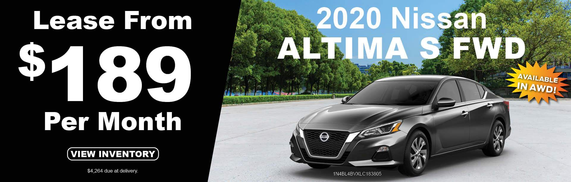 2020 Nissan Altima S FWD
