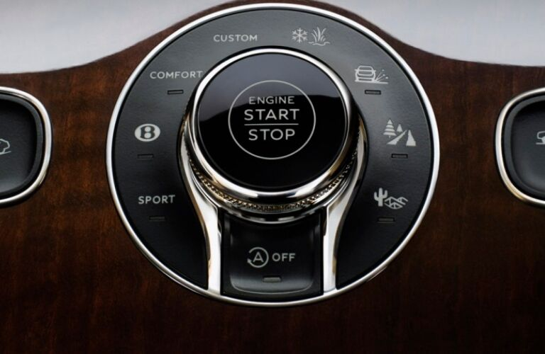 Drive Dynamics Control in the 2019 Bentley Bentayga
