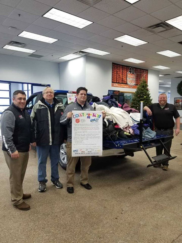 Coats for Kids Truck